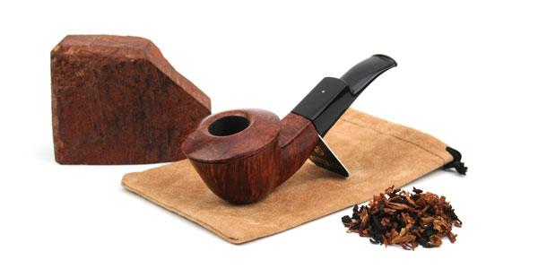 Edele und schwere Pfeife bei Zigarren Hessberger aus Bielefeld